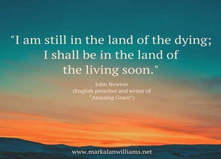 I Am Still In The Land Of The Dying;