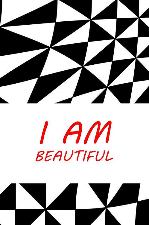 I Am Beautiful Bookmark
