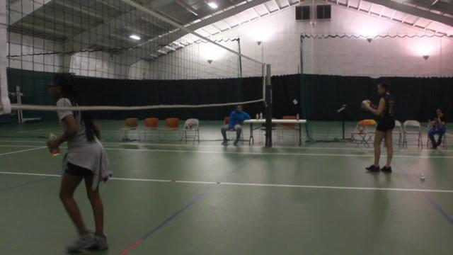 Girls Playing Volley Ball CPCS.mov