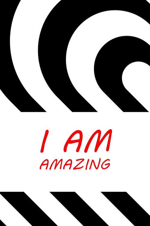 I Am Amazing Bookmark