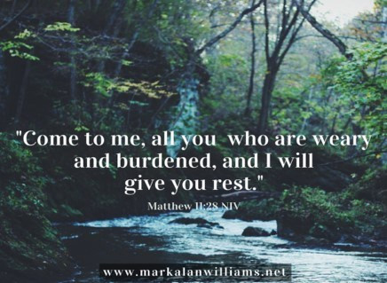 Come To Me, All You Who Are Weary And Burdened…