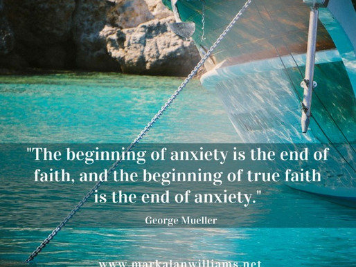 The Beginning Of Anxiety Is The End Of Faith,…