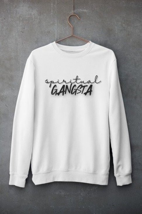 Spiritual Gangsta Sweater