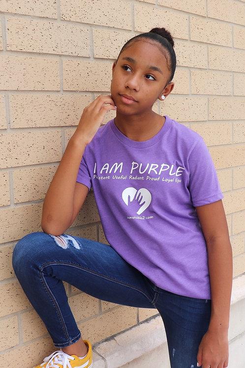 I Am Purple Shirt