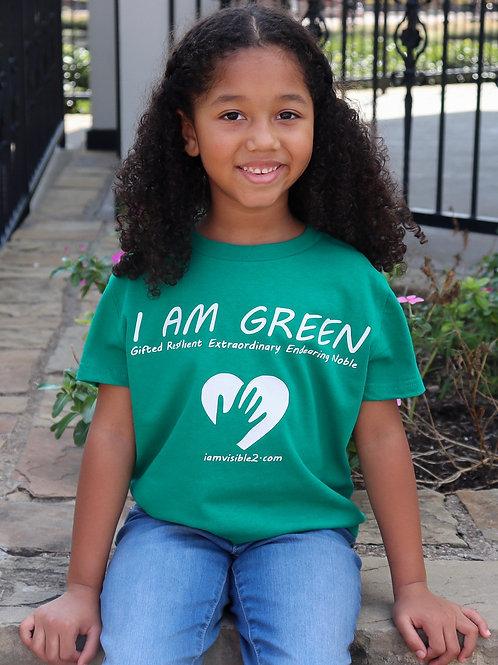 I Am Green Shirt