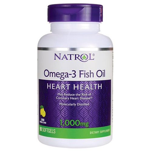Omega-3 Fish Oil - Lemon