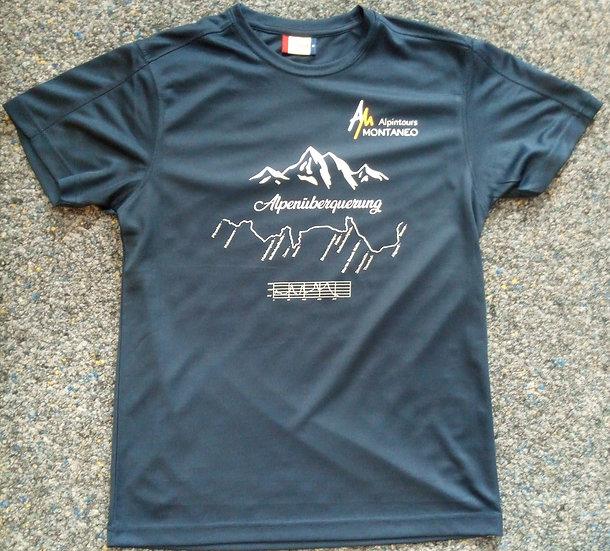 T- Shirt Alpenüberquerung Pfronten - Meran