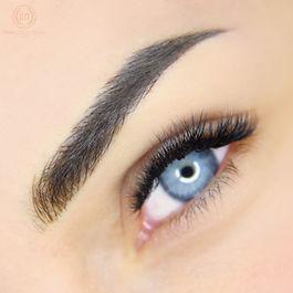 microblading occhi azzurri