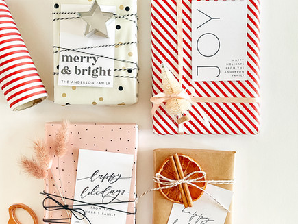 On-Trend Holiday Gift Wrapping Ideas