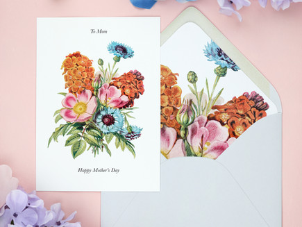 Freebie - Mother's Day Card and Envelope Liner