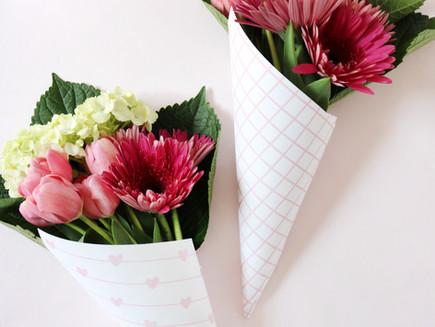 Freebie - Mother's Day Flower Wraps