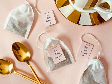 Hot-Tea Tea Tags Freebie + DIY Tea Bags