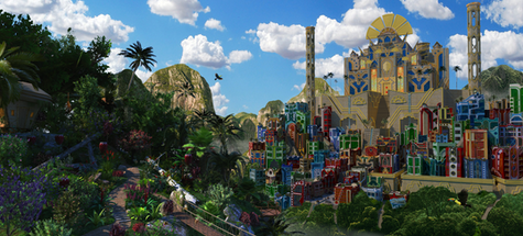the Emperor's New Groove - Final Enhanced Render with Photoshop