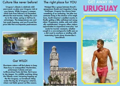 Black Monday - Travel Brochure