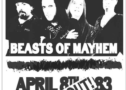 Black Monday - Concert Poster