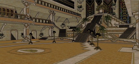 the Emperor's New Groove - Screenshot from Sketchup Model