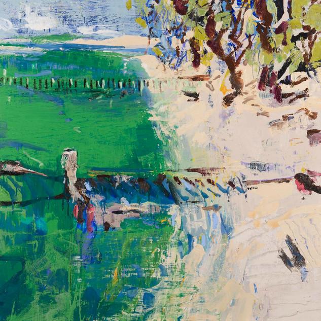 Jetties along Portsea
