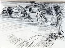 Sketch for High Tide I, Belle Ile