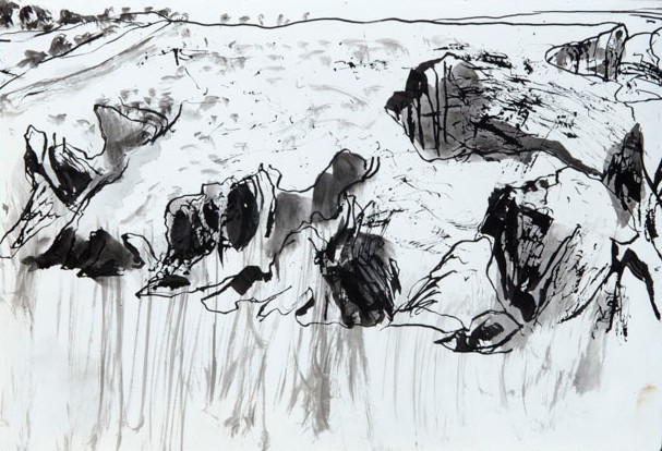 Study for Up and Over, Belle Ile