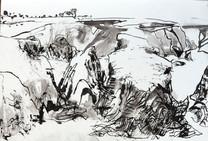 Study for Goulphar Bay I, Belle Ile
