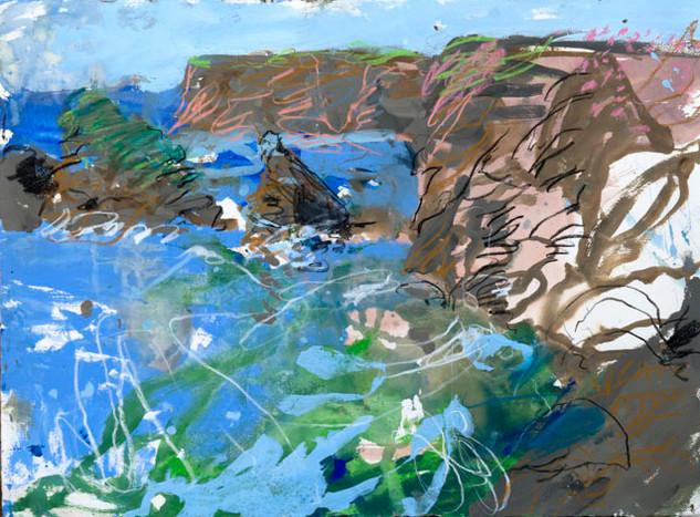 Study of High Tide, Belle Ile