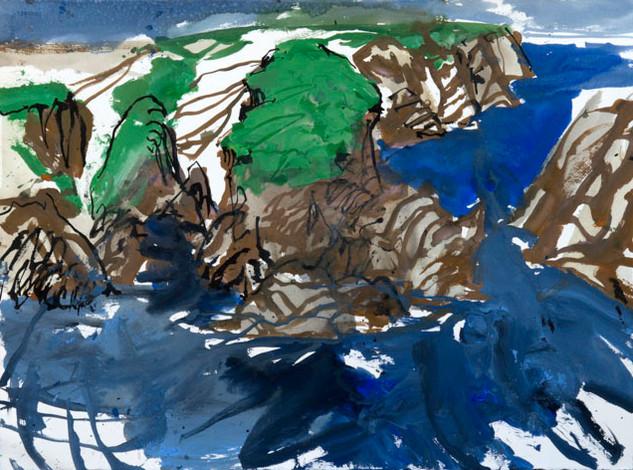 Study for Goulphar Bay, Belle Ile
