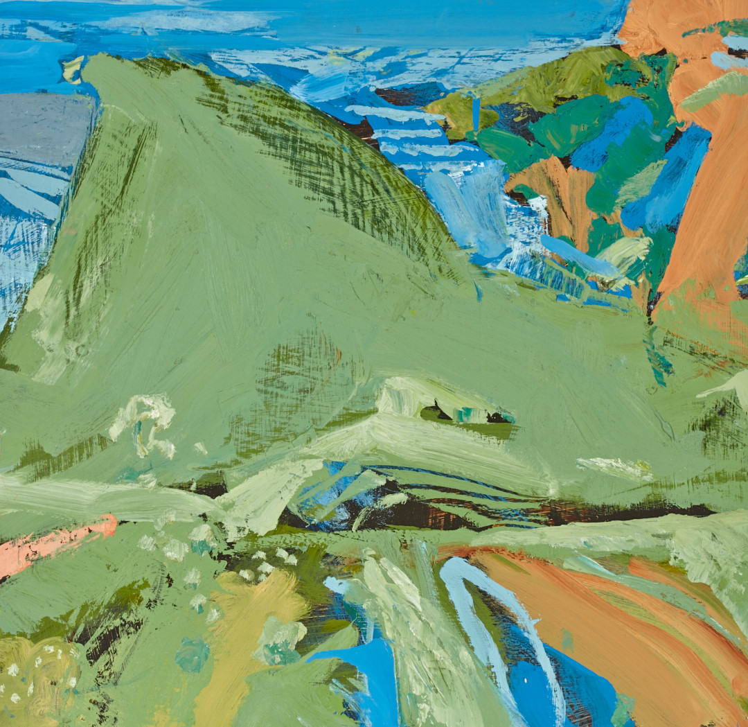 Study for Headland, Bruny Island
