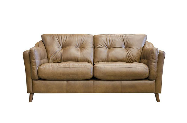 Saddler Leather Midi Sofa