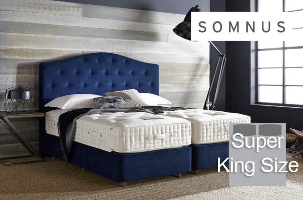 Somnus Marquis 14000 Super King Size Divan Bed