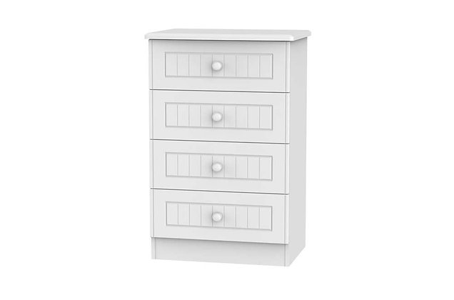 Welcome Bedroom Warwick 4 Drawer Midi Chest