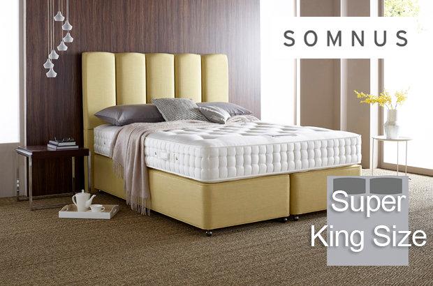 Somnus Diplomat 6550 Super King Size Divan Bed