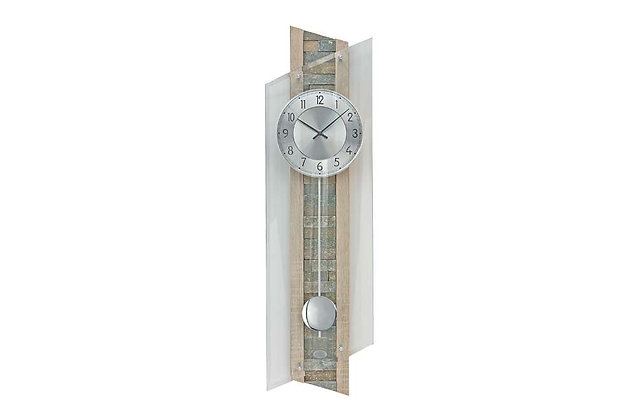 Contemporary Mineral Glass – Radio Controlled Wall Clock (QC 9150)