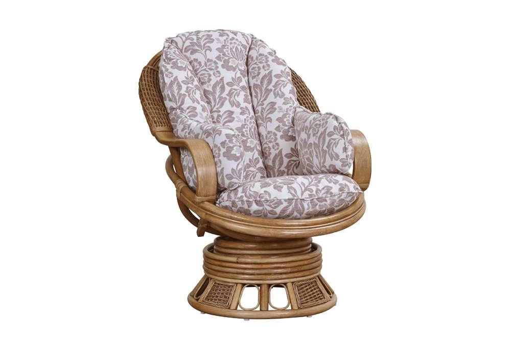Bari Cane Swivel Rocker Chair Thorndale Furnishers