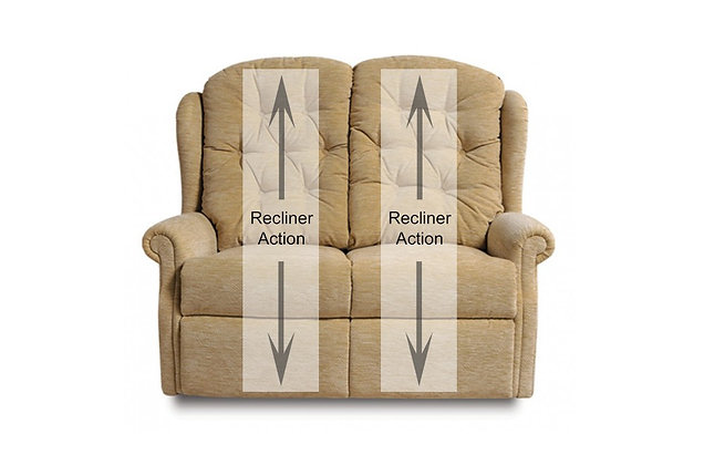 Celebrity Woburn 2 Seater Double Recliner Sofa