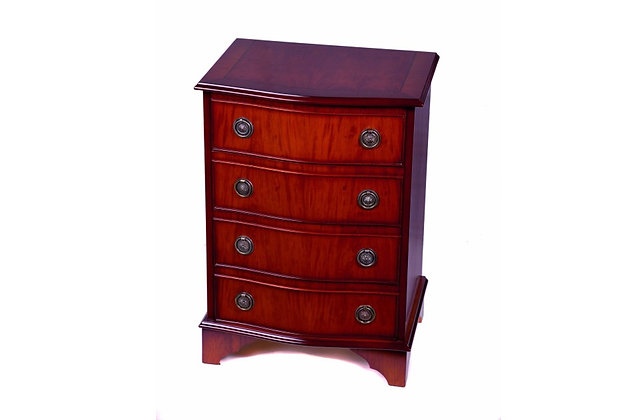 Ashmore Simply Classical 4 Drawer Serpentine Chest