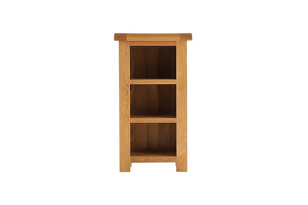 Oakwood Narrow Bookcase