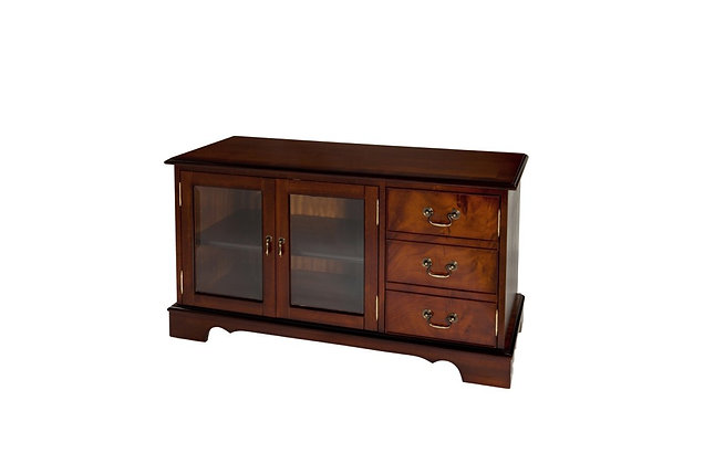 Ashmore Simply Classical TV Unit With Glass Door