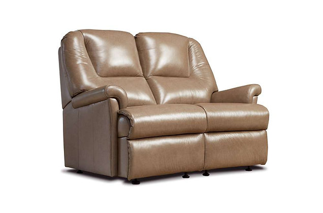 Sherborne Milburn Leather Small 2 Seater Sofa