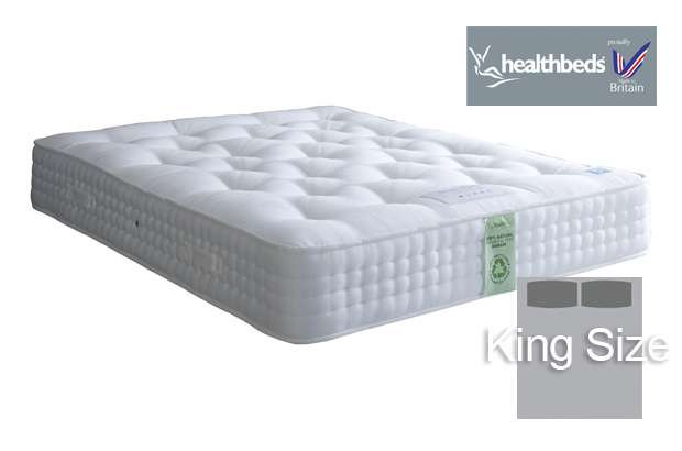 Healthbeds Ultimate Natural 2000 King Size Mattress
