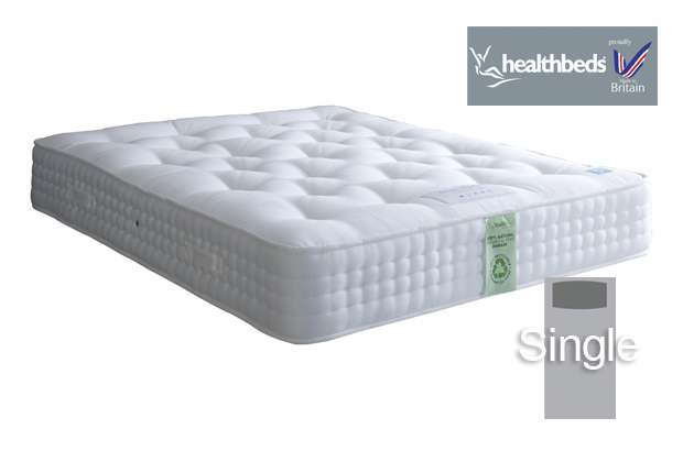 Healthbeds Ultimate Natural 2000 Single Mattress
