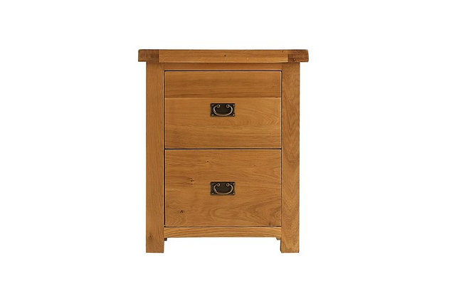 Oakwood Filing Cabinet