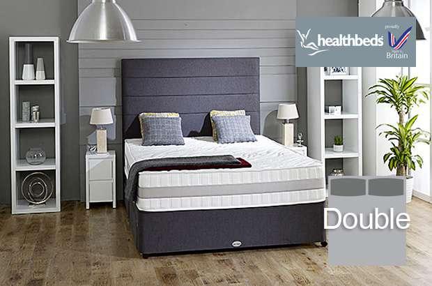 Health Beds Active Life 4000 Double Divan Bed