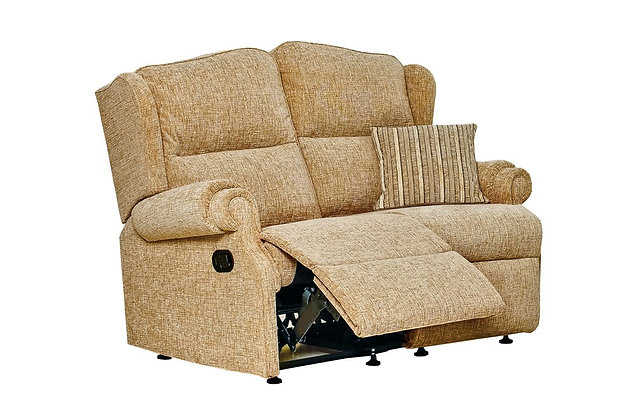 Sherborne Claremont Standard 2 Seater Manual Recliner