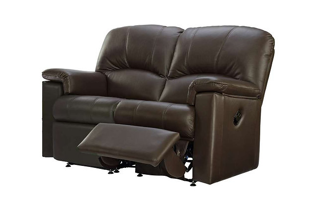 G Plan Chloe Leather Right Hand Facing Single Manual 2 Seater Recliner Sofa