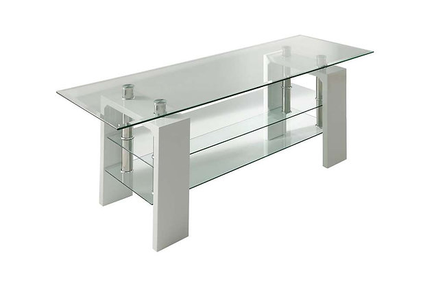 Calico TV Unit - White