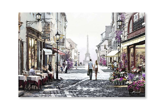 Strolling in Paris by Macneil Studio