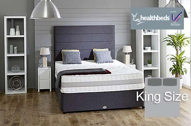 Health Beds Active Life 4000 King Size Divan Bed