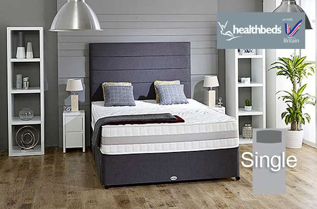 Health Beds Active Life 4000 Single Divan Bed