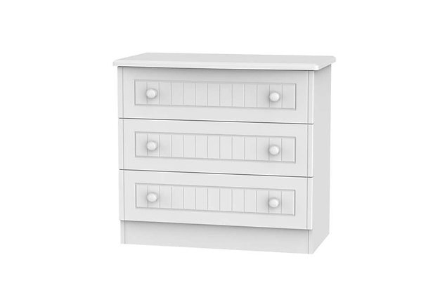 Welcome Bedroom Warwick 3 Drawer Chest