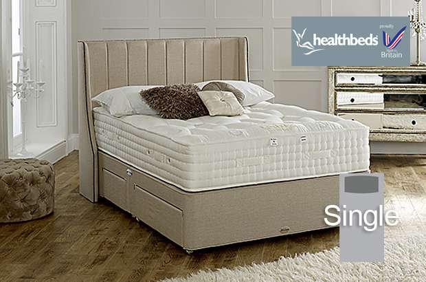 Health Beds Kensington 4500 Single Divan Bed